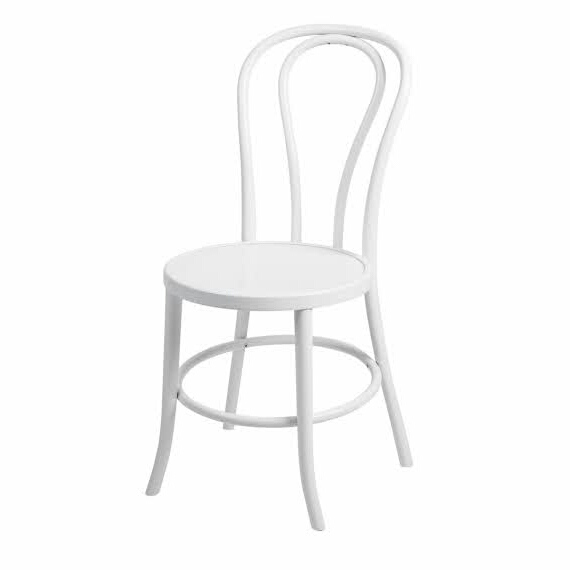 White Bentwood Chair Hire <a href='#' class='view-taggged-products' data-id=606>Click to View Products</a><div class='taggged-products-slider-wrap'><div class='heading-tag-products'></div><div class='taggged-products-slider'></div></div><div class='loading-spinner'><i class='fa fa-spinner fa-spin'></i></div>