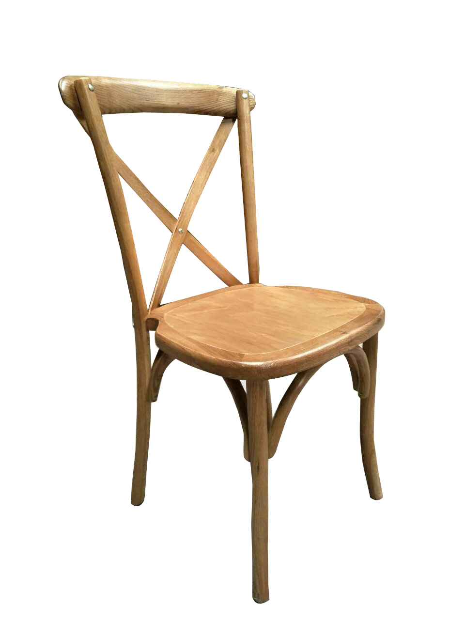 Cross Back Chair Black Label