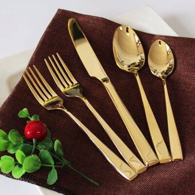 Gold Cutlery Hire Perth