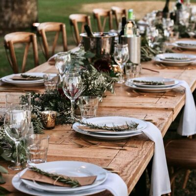 trestle table hire perth