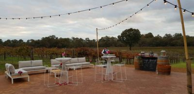 Outdoor furniture hire perth