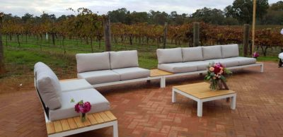outdoor lounge hire perth