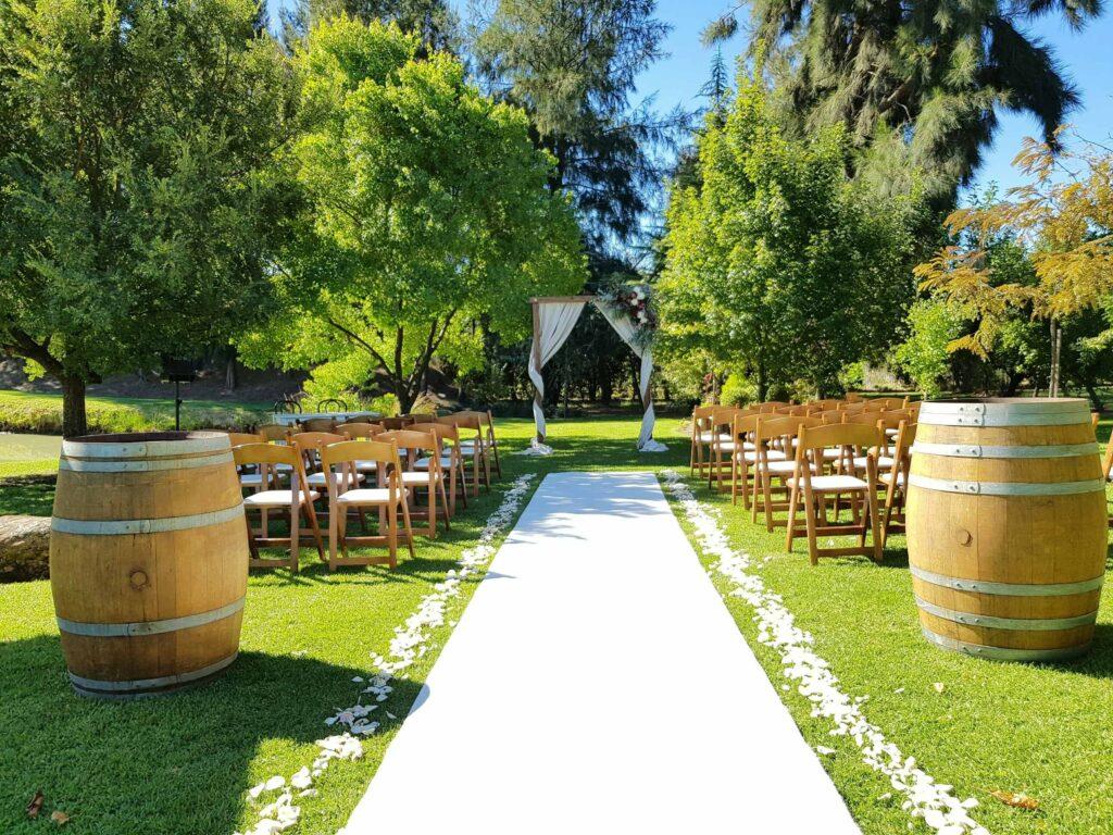ceremony hire perth