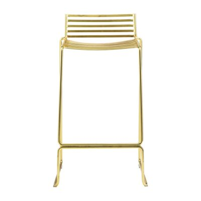 Gold wire chair