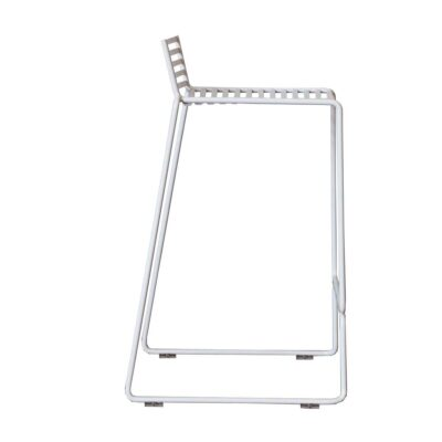 Wire chair white