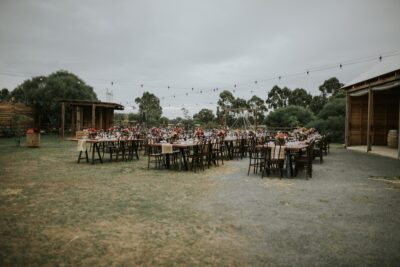 wood table hire perth