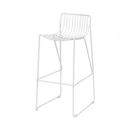 blacklabel white barstool
