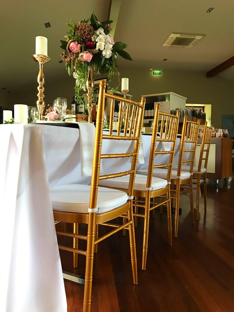 gold tiffany chair perth