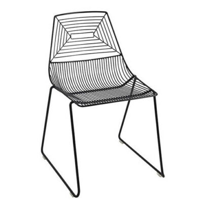 wire chairblack