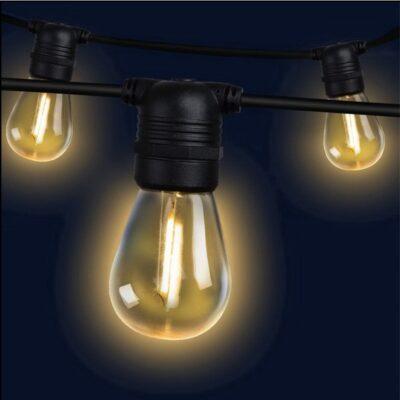 perth festoon lighting hire