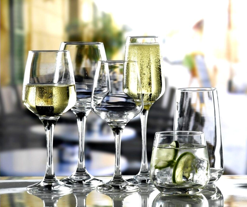 Glassware hire Perth