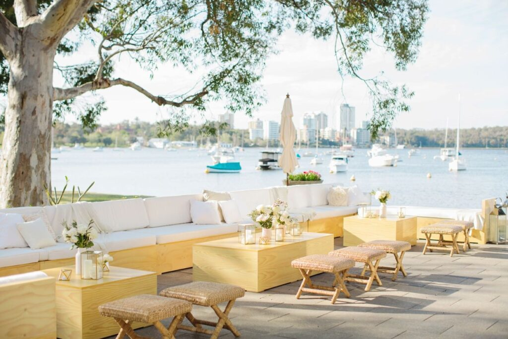 Outdoor Furniture Hire Perth