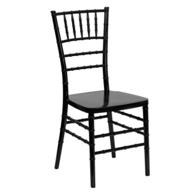 Black TIffany chair hire