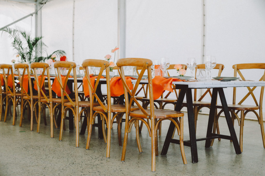 Wooden Chair Hire Perth