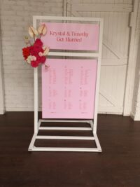 wedding welcome chart perth