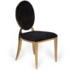 black velvet wedding chair hire harlow chair