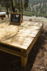 pallet furniture hire
