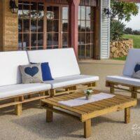 pallet furniture hire