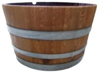 Half Wine Barrel Hire