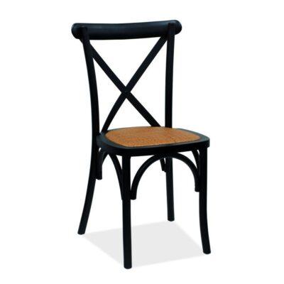 black chair hire Perth