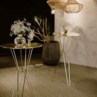 Gold wedding furniture hire