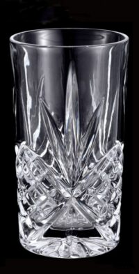 Crystal water glass hire