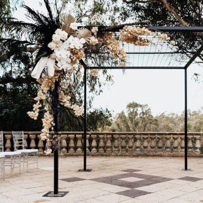 wedding arbour hire Perth