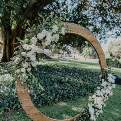 Round Wedding Arbour Hire
